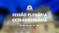 Sessão Plenária Extraordinária - 14 horas