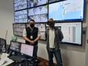 Vereador visita o CIOP e propõe aumento de câmeras de segurança em Petrópolis